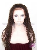 Kinky Curl #3 Indian Remy Hair Full Lace Wigs